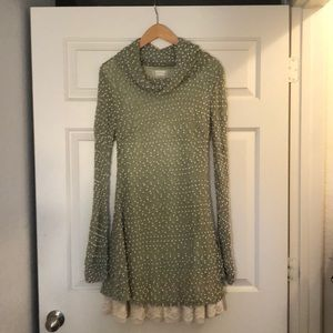 Altar'd State Cowl Neck Sweater Dress